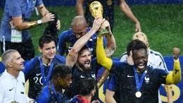 Футболисты французской сборной довели дослез сотрудниц отеля вподмосковье