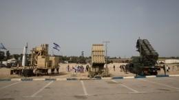 ВВС Израиля перехватили две изтрех ракет изГазы