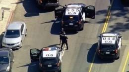 Полиция задержала молодого человека, удерживавшего заложников вГолливуде