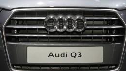 Опубликованы первые официальные кадры обновленного Audi Q3