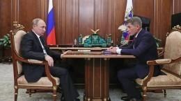 Навстрече сгубернатором Сахалина Путин одобрил новую суперстройку