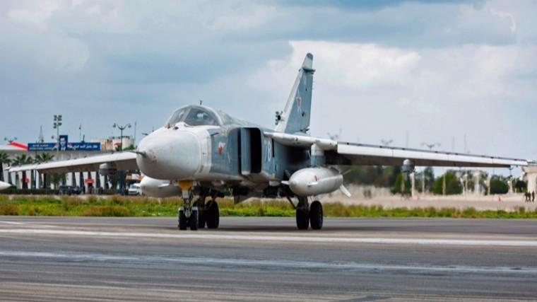 Британские истребители сопроводили российские Су-24 над Черным морем