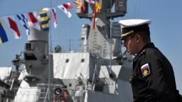 Открылся первый Международный дальневосточный военно-морской салон