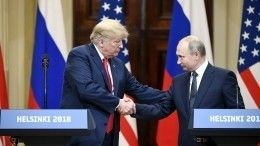 Конгресс США намерен запретить Трампу встречаться сПутиным один наодин