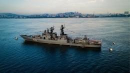 Военно-морской парад коДню ВМФ-2018 прошел воВладивостоке— видео