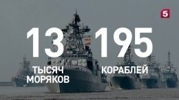 «Неустрашимый инесокрушимый»: ВРоссии парадами отметили день ВМФ