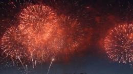 Прямая трансляция праздничного фейерверка вчесть Дня ВМФ вПетербурге