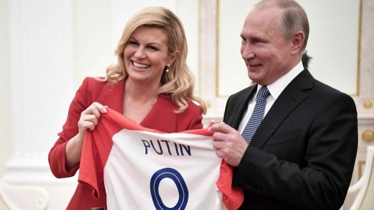 Президент Хорватии Колинда Грабар-Китарович ждет Владимира Путина вгости