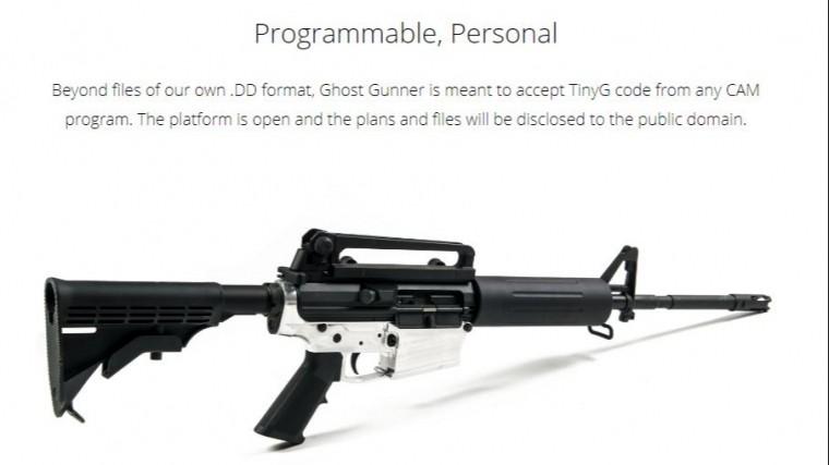 Чертежи для печати оружия на3D-принтере скачали более тысячи американцев