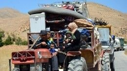 ВРоссии отметили важность добровольного возвращения беженцев вСирию