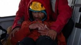 Спасатель рассказал подробности эвакуации альпиниста с«горы-убийцы» вПакистане