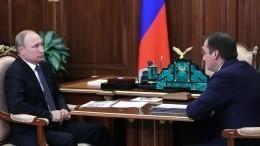 Врио главы НАО доложил Владимиру Путину оситуации сжильем врегионе