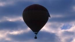Опасная посадка воздушного шара вЛенобласти— новые кадры