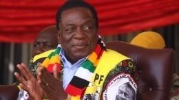 Президентом Зимбабве осталсядействующий лидер
