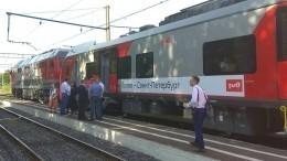 Первая «Ласточка»: скоростной поезд соединил Санкт-Петербург иПсков