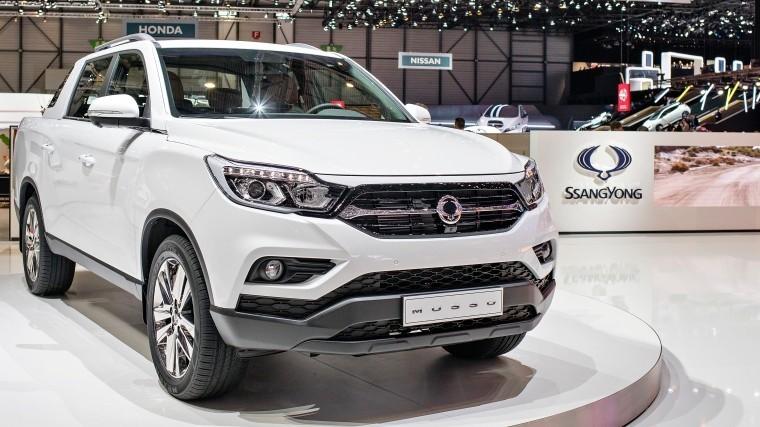 SsangYong намеренвыпустить первый вмире электромобиль-пикап