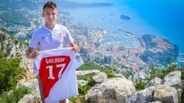 Видео: Александр Головин провел первую тренировку в«Монако»
