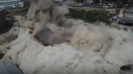 ВИваново взорвали один изсимволов города— видео