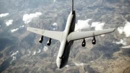 Мощнейший военный транспортник ВВС США проехался носом поземле при посадке