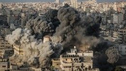Израиль стягивает танкиксектору Газа