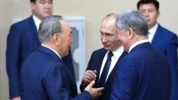 Путин анонсировал «Каспийский экономический форум»