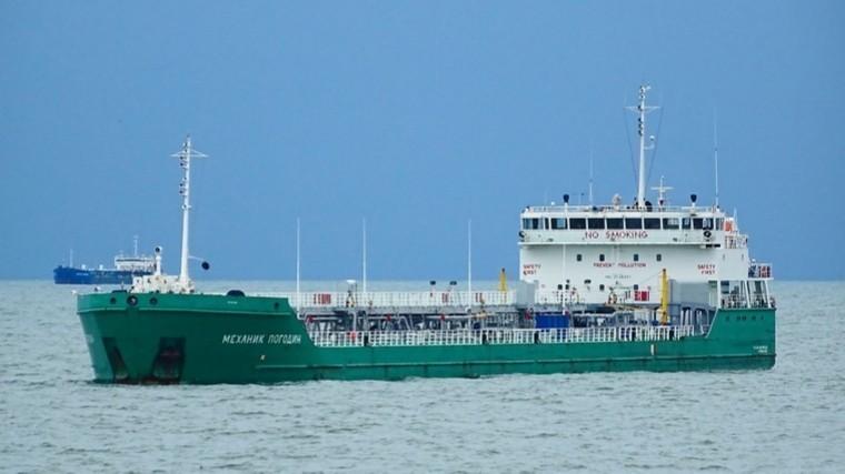Силовики СБУ захватили впорту Херсонароссийское судно