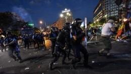 Число пострадавших вуличных столкновениях вРумынии возросло до452