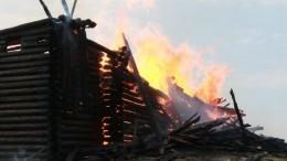 Вподжоге старинной деревянной церкви вКарелииподозревают подростка