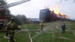 Мать вероятного поджигателя церкви вКарелии рассказала оего странном поведении