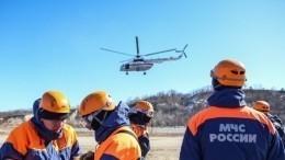 Опубликовано видео спасения туристов наАлтае