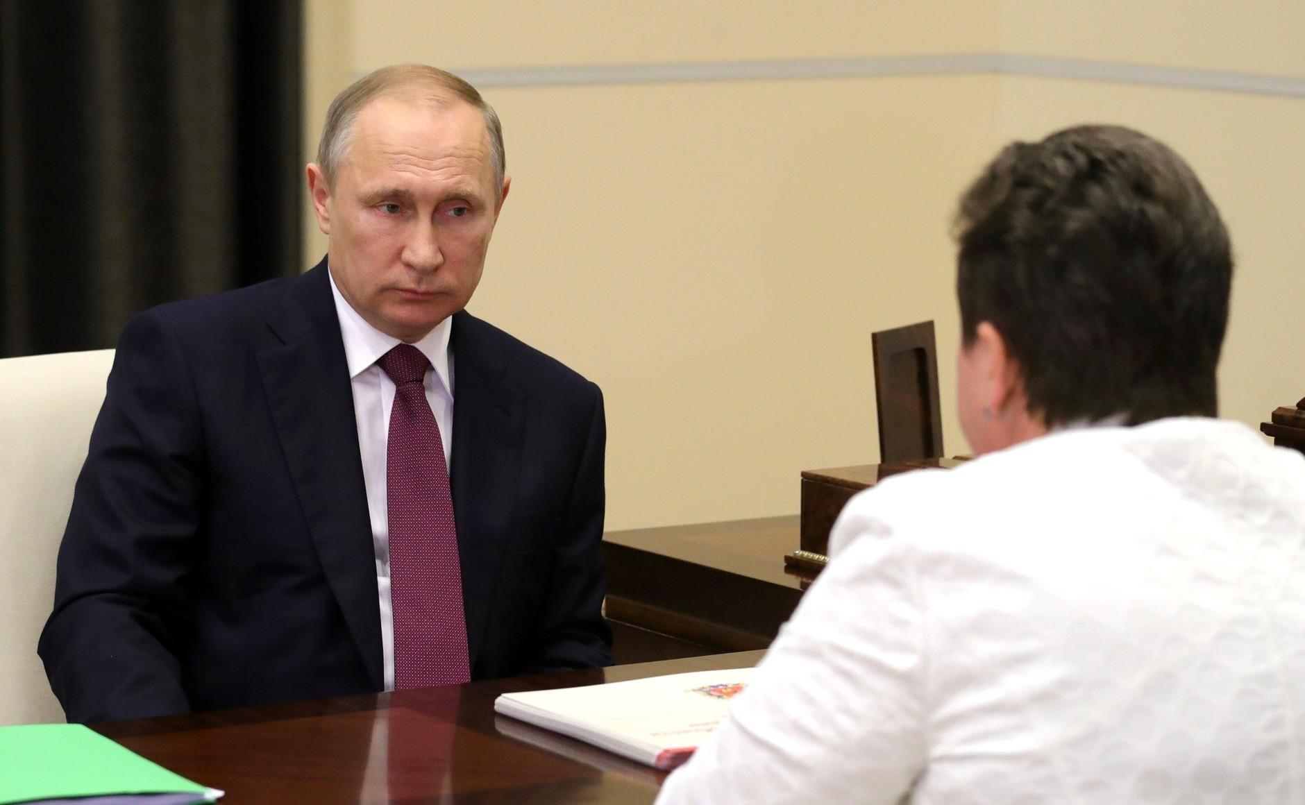 Владимир Путин провел рабочую встречу сгубернатором Владимирской области