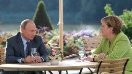 Мировые СМИ обсуждают «символизм» встречи Владимира Путина иАнгелы Меркель