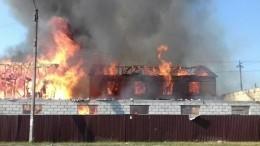 Пожар вБрянске нафабрике, охвативший площадь в2 тыс квм,ликвидировали