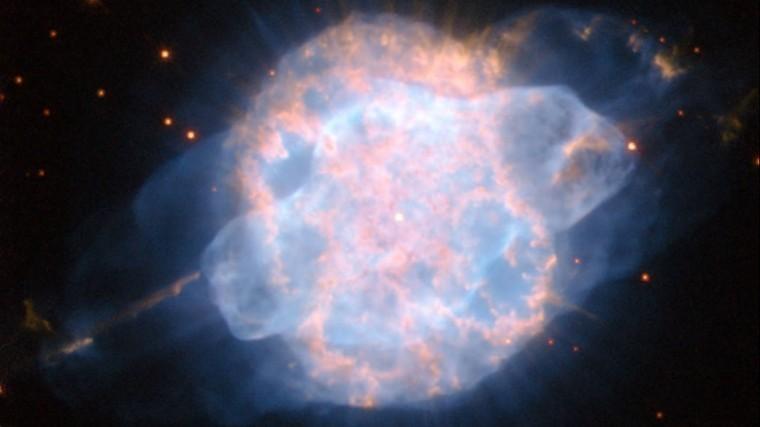 NASA опубликовало снимок «небесного глаза»