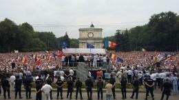 «Позор истыд»— Президент Молдавии осудил акции протеста вКишиневе