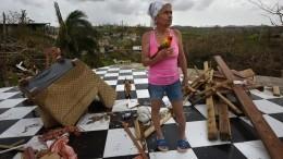 ВластиПуэрто-Рико признались взанижении числа жертв урагана «Мария» в46 раз