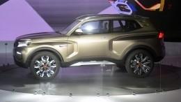 Появились снимки нового внедорожника Lada 4×4 Vision