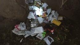 Томский почтальон устроил свалкуизнедоставленных посылок— видео
