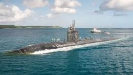 ВСредиземном море заметили атомную подводную лодку ВМС США