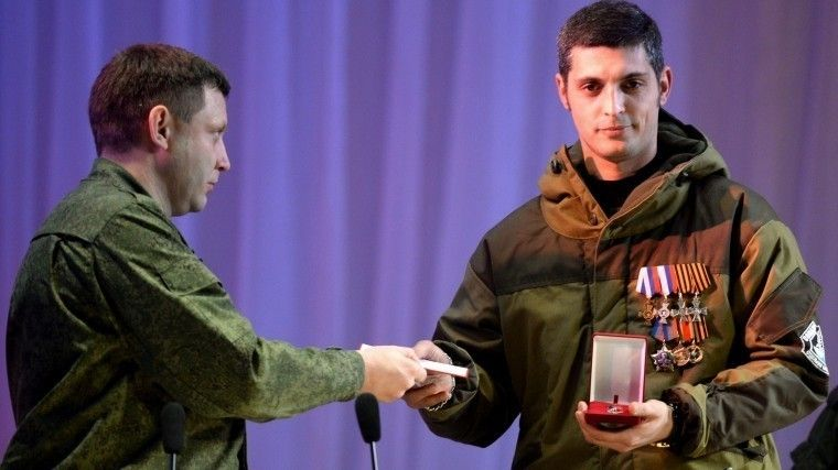Главу ДНР Захарченко похоронят рядом сГиви иМоторолой