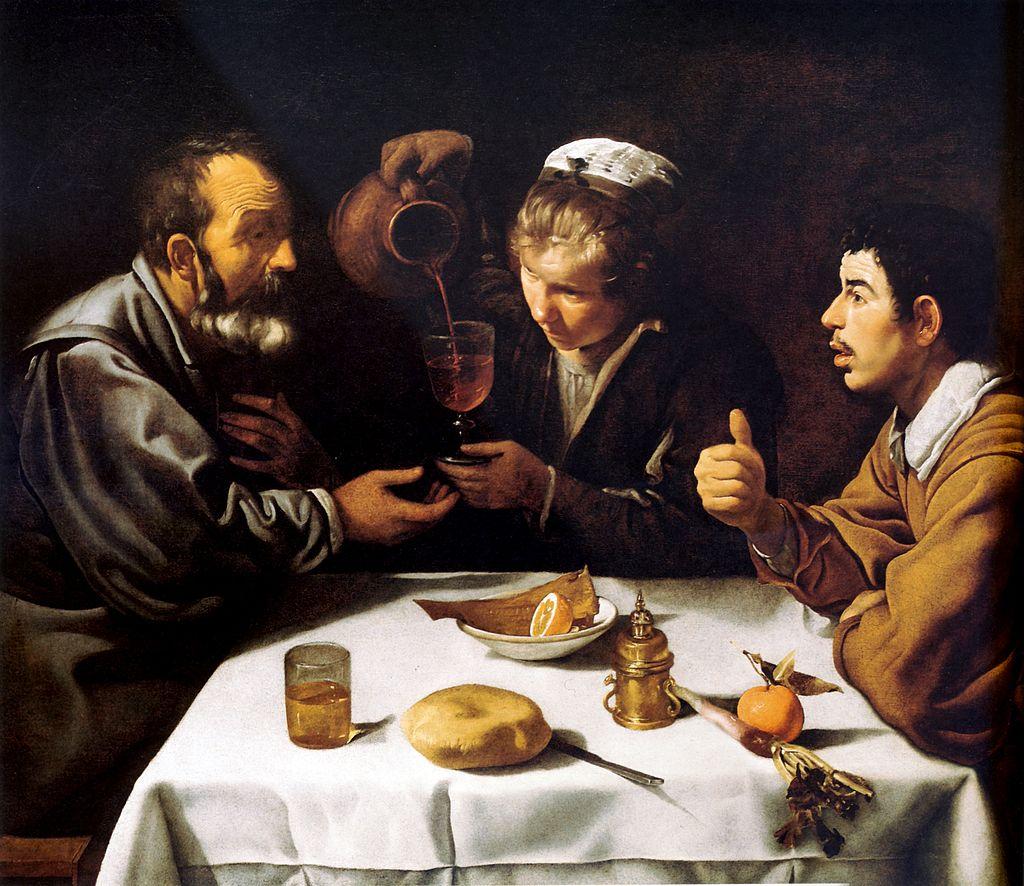 """""""Завтрак"""". Диего Веласкес, 1617-1618 гг"""