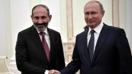 Путин: отношения Армении иРоссии активно развиваются вовсех сферах