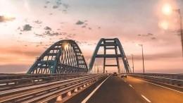 Крымский мост заработал вштатном режиме после аварии скраном