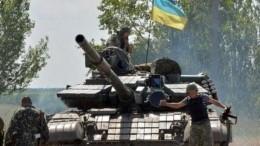 Украинские военные обстреляли поселок под Луганском изгранатомета— видео