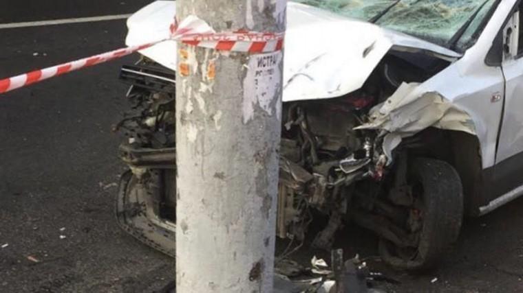 Водитель намеренно влетел вгруппу пешеходов вМоскве