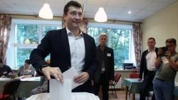 Врио главы Нижегородской области Глеб Никитин одержал победу навыборах