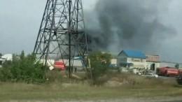 ВНижегородской области тушили химический завод