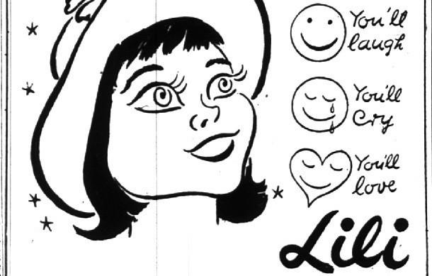 Использование смайлика врекламной кампании фильма «Лили»