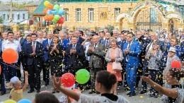 Космонавты поздравили сднем рождения Урюпинск