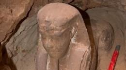 Наюге Египта нашли маленького, ноочень древнего сфинкса— фото